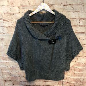 NWT BCBGmaxazria acrylic wool poncho